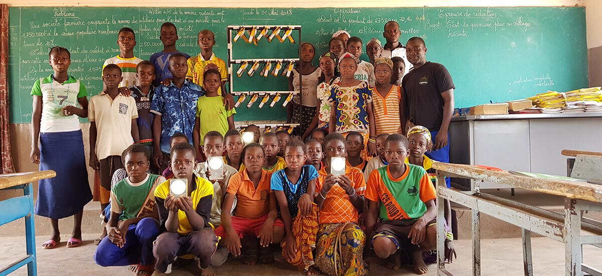 photo groupe afrique station recharge lagazel